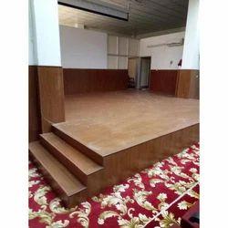 Brown Indoor Wooden Flooring, 8 Mm