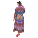 Multi Printed Kaftan Gown