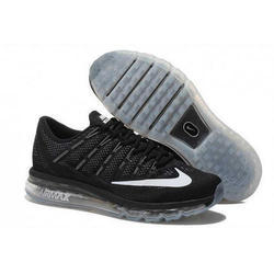 d2187a3a26 Box Nike AirMax 2016 Black White Sole Shoes, Size: 41-45, Rs 3000 ...