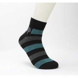 Woodland BD 160 Striped Ankle Length Men's Socks