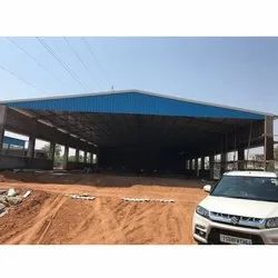 FRP Prefab Industrial Roofing Shed