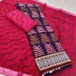 Bandhani Suit Banjaran Style