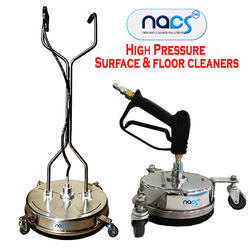 High Pressure Surface and Floor Cleaner with Wheel & Gun