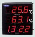 Temperature & Humidity Indicator Clock