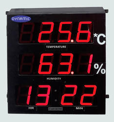 Temperature & Humidity Indicator with Clock