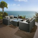 Luxurious Garden Rattan Sofa Set