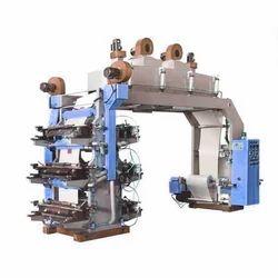 Mild Steel Six Colour Flexo Printing Machine