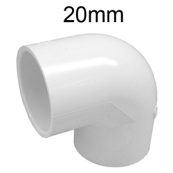 20mm UPVC Pipe Elbow, Water Fitting
