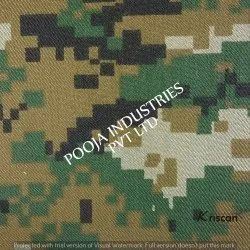 100% Polyester Camouflage Military Uniform Fabric