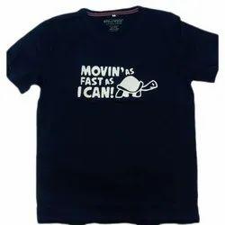 Cotton Printed Mens Half Sleeve T Shirts