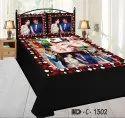 Customised Double Bedsheet