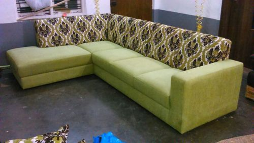 Wooden Light Green Sofa Set