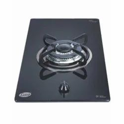 Cast Iron Glen GL 1011 TR Glass 30CM Built In Hob, Single, Packaging Type: Carton Box