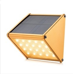 Aluminium Solar Wall Light, Power: 1 W