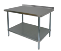 S-S Work Table With-1-U-S