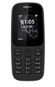 Nokia 105 (Dual SIM, Black) Mobile Phone