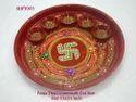 Pooja Thali  Conework Cut Size