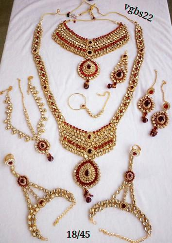 Wedding And Party Red Bridal Necklace Set Engagement Women Fashion Jewelry