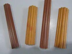 Half Round Groove PVC Profiles