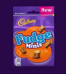 Cadbury Fudge Minis, Packaging Type: Pack