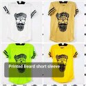 Mens Half Sleeves Printed T Shirt