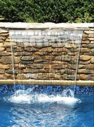 Water Sheet Pool Fountain