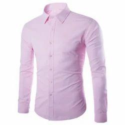 Full Cotton Mens Plain Shirt, Size: Small