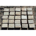 Gray Fossil Natural Cobble Stone