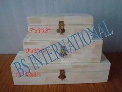 Printed Gift Bone Jewelry Box for Home