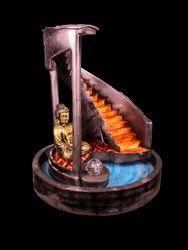 Designer Ladder Fountain with Gautam Buddha Statue