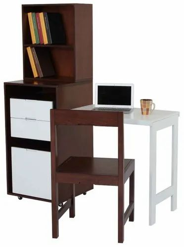 Wooden Drawer Unit With Reading Table
