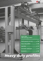 Gantry Systems 80x160 Aluminum Profile