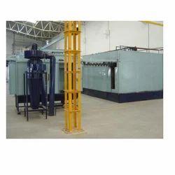 Powder Coating Oven, Capacity: More Than 3000 Kg