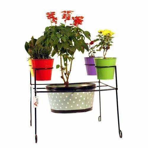 Cast Iron Garden Pot Stand Size 20 Inch