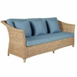 3 Seater Rattan Chair