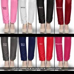 Female SKU-8 Cotton Linen Trouser Skylark Garments