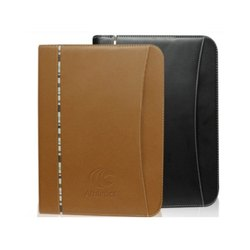 Leather Report File H-204 Office Conference Folder, Paper Size: A4
