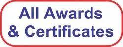 ANSHUMAN AWARDS & CERTIFICATES