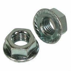 Hex Lock Nuts Zinc