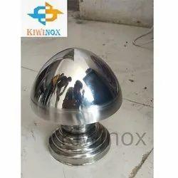 SS Step Coin Railing Ball