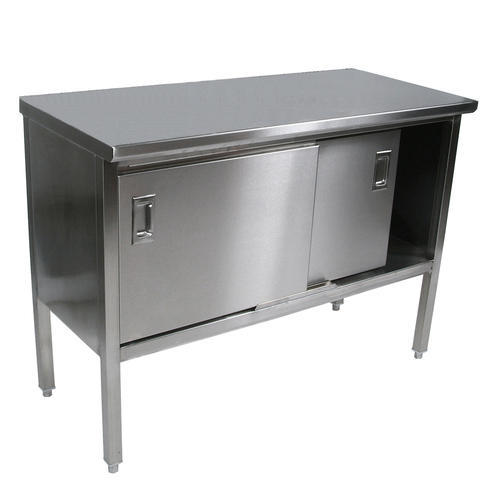 Stainless Steel Cabinet Work Table