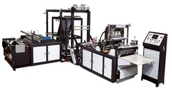 Non Woven Nose Pin Attached Automatic Face Mask Making Machine
