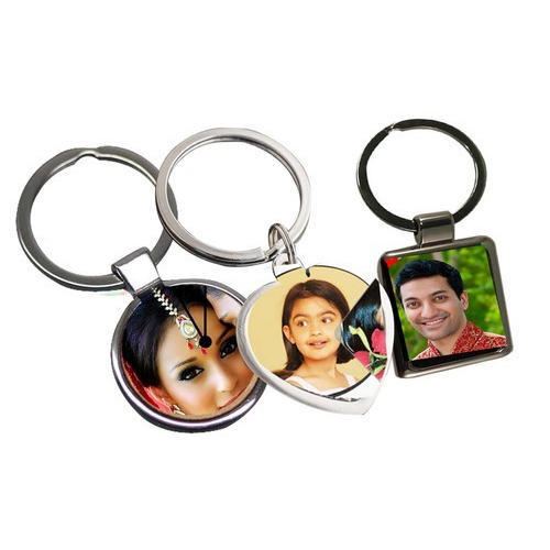 Metallick Sublimation Blank Metal Keychain, Size: 2 Inches