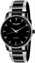 Allisto Europa ALM-02 Black Pearl Premium Analog Watch