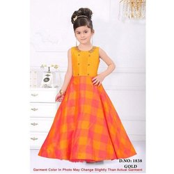 Kids Sleeveless Gown