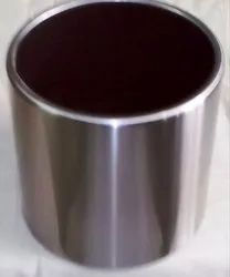 Cylindrical Stainless Steel Planter