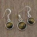 925 Silver Jewelry Pearl Gemstone Sets