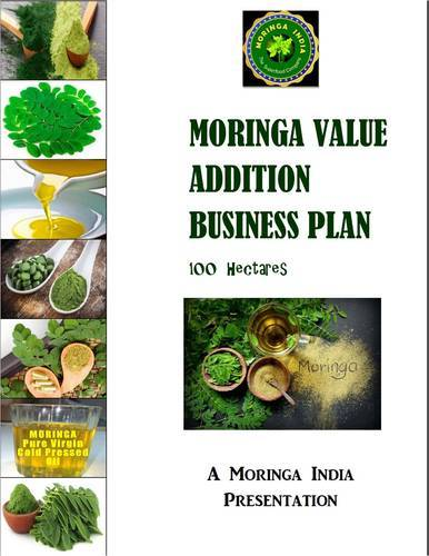 Moringa Value Addition Business Plan 100 ha in Vidhyadhar Nagar