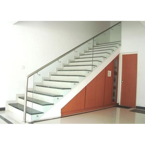 Genial Stainless Steel And Glass Stainless Steel Glass Staircase Railing