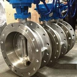Stainless Steel Butterfly Valve With PTFE Lined